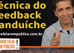 técnica do feedback sanduíche